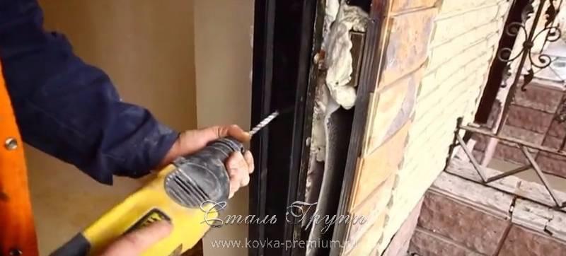 двери входные кованые с монтажем